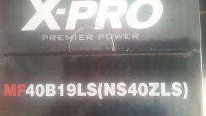 ẮC QUY X-PRO 40B19L