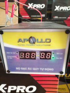 Nạp Ắc Quy Tự Động Apollo 12V 10A, AC1210A